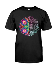 Peace Love And Light Classic T-Shirt front