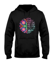 Peace Love And Light Hooded Sweatshirt thumbnail