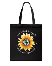 Myself What A Wonderful World 2 Tote Bag thumbnail