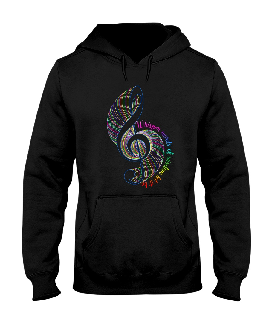 Whisper Words Of Wisdom Hooded Sweatshirt