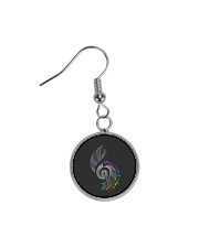 Whisper Words Of Wisdom Circle Earrings thumbnail