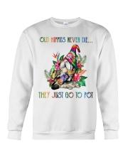 Old Hippies Never Die Crewneck Sweatshirt thumbnail