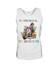 Old Hippies Never Die Unisex Tank thumbnail