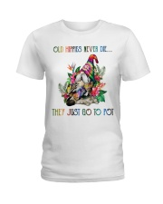 Old Hippies Never Die Ladies T-Shirt thumbnail