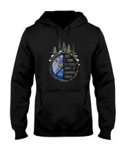 Myself What A Wonderful World 4 Hooded Sweatshirt front