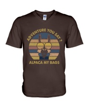 Adventure You Say V-Neck T-Shirt thumbnail
