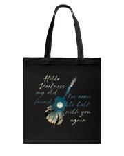 Hello Darkness Tote Bag thumbnail