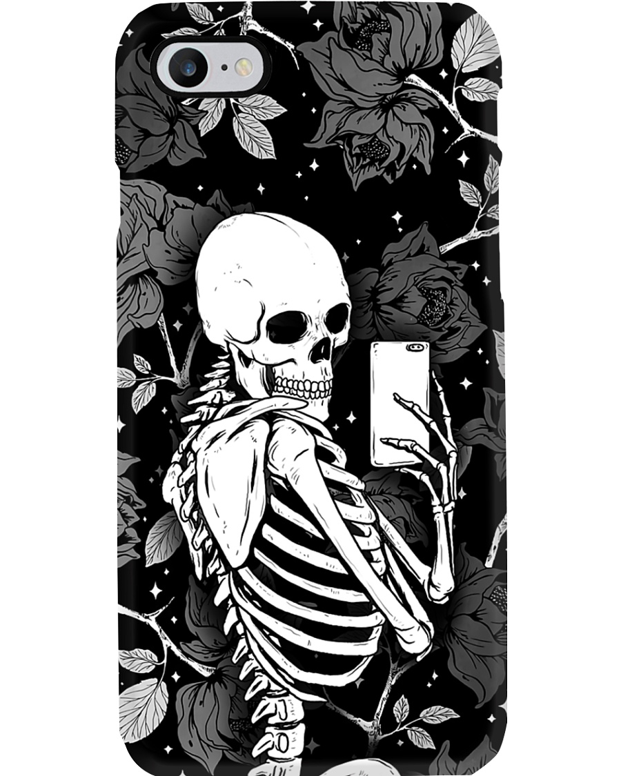 Skull Flower Phone Case