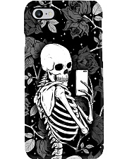 Skull Flower Phone Case i-phone-7-case