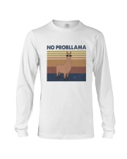 No Probllama Long Sleeve Tee thumbnail