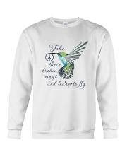 Take These Broken Wings Crewneck Sweatshirt thumbnail