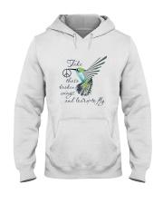 Take These Broken Wings Hooded Sweatshirt front