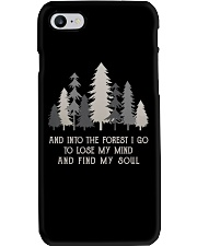 And Into The Forest I Go Phone Case thumbnail