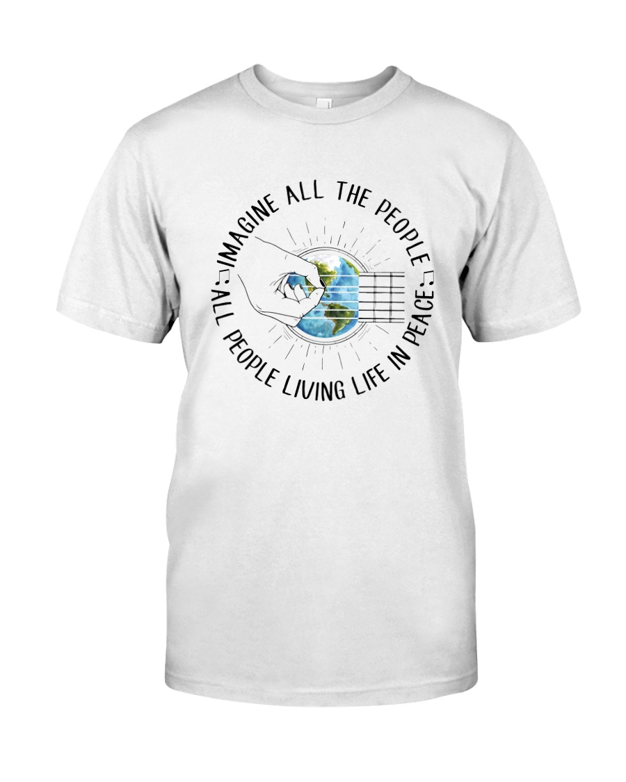 People Living Life In Peace Classic T-Shirt