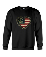 Freedom Is Just Another World 3 Crewneck Sweatshirt thumbnail