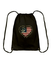 Freedom Is Just Another World 3 Drawstring Bag thumbnail