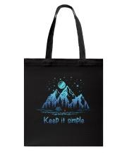 Keep It Simple Tote Bag thumbnail