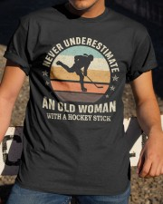 An Old Man With A Hockey Stick Classic T-Shirt apparel-classic-tshirt-lifestyle-28