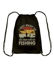 I Just Want To Get High Drawstring Bag thumbnail