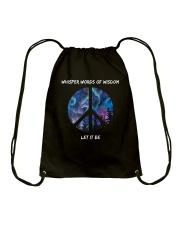 Whisper Words Of Wisdom 1 Drawstring Bag thumbnail
