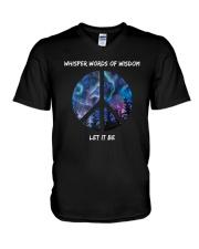 Whisper Words Of Wisdom 1 V-Neck T-Shirt thumbnail