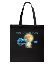 Here Comes The Moon Tote Bag thumbnail