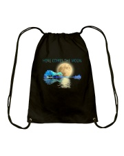 Here Comes The Moon Drawstring Bag thumbnail