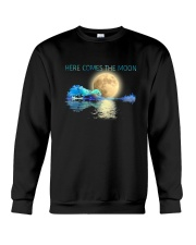 Here Comes The Moon Crewneck Sweatshirt thumbnail