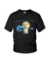 Here Comes The Moon Youth T-Shirt thumbnail