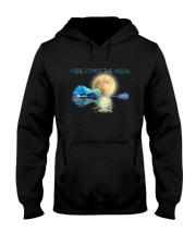 Here Comes The Moon Hooded Sweatshirt thumbnail