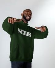 Need Weed Hooded Sweatshirt apparel-hooded-sweatshirt-lifestyle-front-12