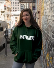 Need Weed Hooded Sweatshirt lifestyle-unisex-hoodie-front-1
