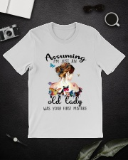I Am Just An Old Lady Classic T-Shirt lifestyle-mens-crewneck-front-16