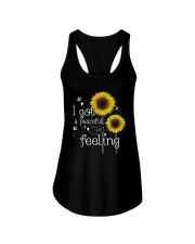 Peaceful Easy Feeling 4 Ladies Flowy Tank thumbnail