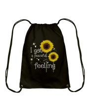 Peaceful Easy Feeling 4 Drawstring Bag thumbnail