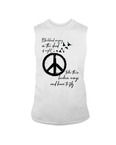 BlackBird Singing Hippie A0162