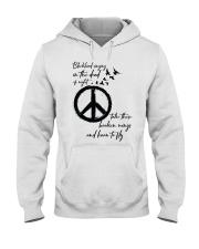 BlackBird Singing Hippie A0162 Hooded Sweatshirt front