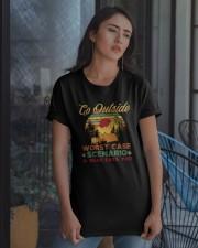 Go Outside Classic T-Shirt apparel-classic-tshirt-lifestyle-08