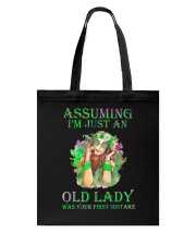 I Am Just An Old Lady Tote Bag thumbnail