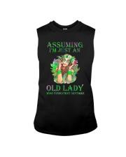 I Am Just An Old Lady Sleeveless Tee thumbnail