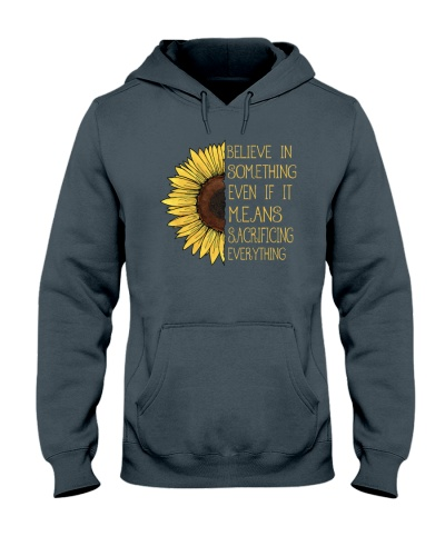 Belive In Something Sunflower Hippie A0179