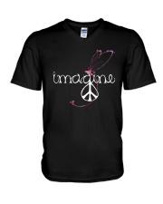 Imagine 2 V-Neck T-Shirt thumbnail