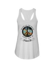 People Living Life In Peace Ladies Flowy Tank thumbnail