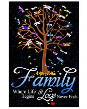 Family Where Life And Love Begins 11x17 Poster front