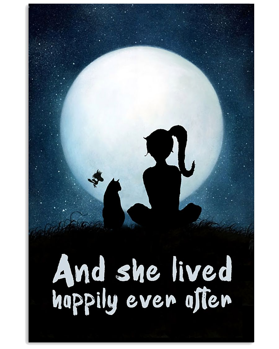 She Lived Happily 11x17 Poster