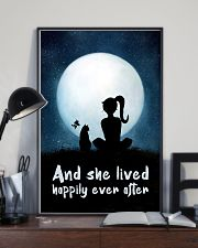 She Lived Happily 11x17 Poster lifestyle-poster-2