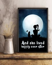 She Lived Happily 11x17 Poster lifestyle-poster-3