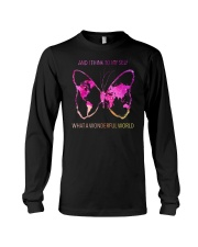 Myself What A Wonderful World 3 Long Sleeve Tee thumbnail