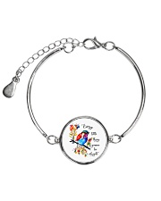 Every Little Thing Is Gonna Be Alright Metallic Circle Bracelet thumbnail