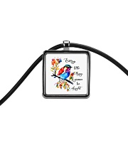 Every Little Thing Is Gonna Be Alright Cord Rectangle Necklace thumbnail